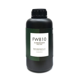 3d printer WAX LIKE Resin FW810