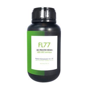 LCD光固化3D列印光敏樹脂-夜光綠FL77-羽耀科技