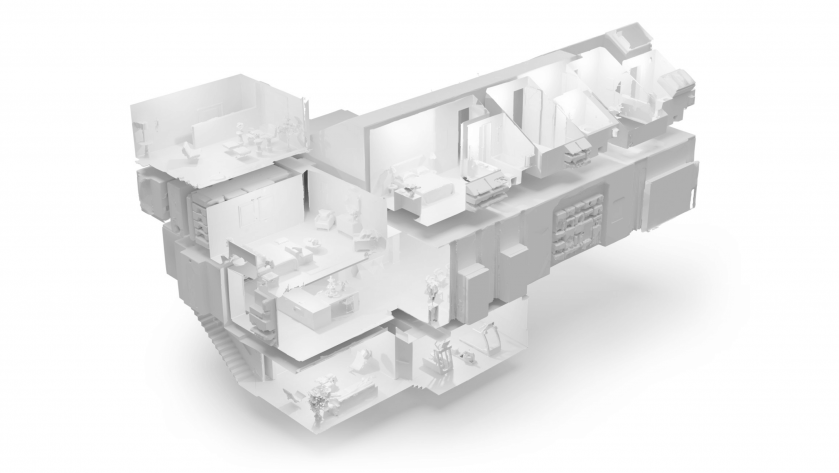matterport pro2 3D camera 娃娃屋模式