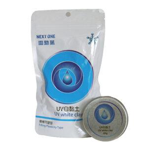 UV White clay